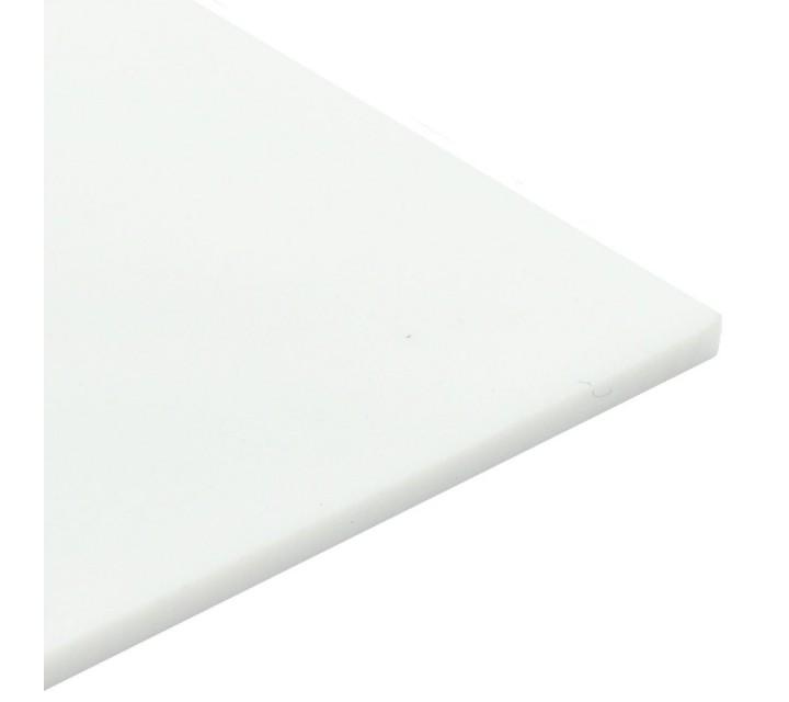 Plancha de metacrilato/plexiglas opal blanco