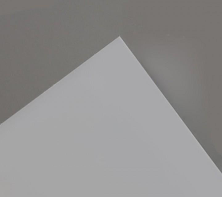 Plancha de metacrilato/plexiglas opal hielo