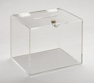 boite bijoux plexi transparente