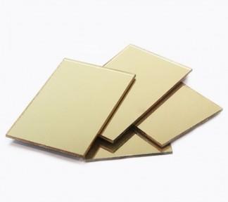 plancha-metacrilato-extrusión-espejo-oro