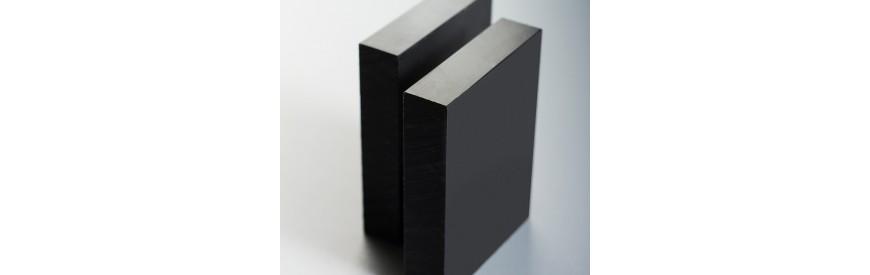 Placas de Nylon negro de colada o Poliamida 6G MO a medida| Muchoplast