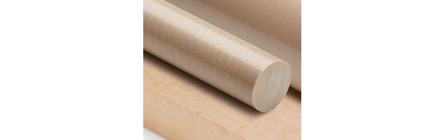 Barres et planches en PEEK sur mesure | Muchoplastico.com